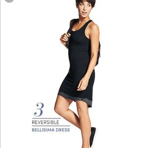 Athleta Belissima reversible mini dress